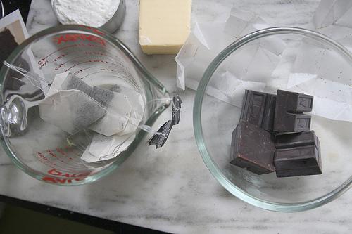 gateau chocolat earl grey