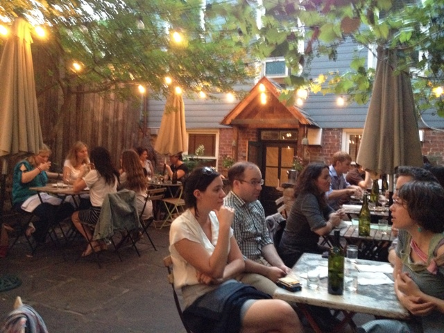 vinegar hill house terrasse